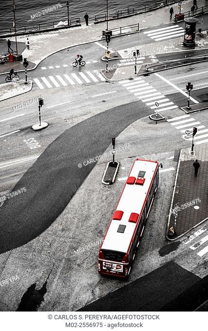 Public transport in Stockholm, Sweden