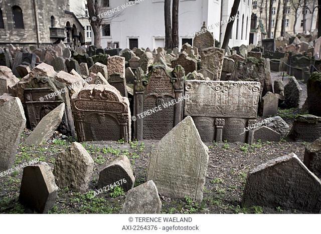 Czech Republic, Josefov graveyard; Prague