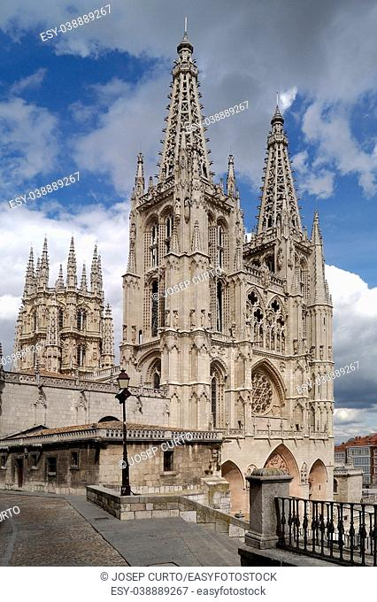 Cathedral of Burgos, Castilla-Leon, Spain,