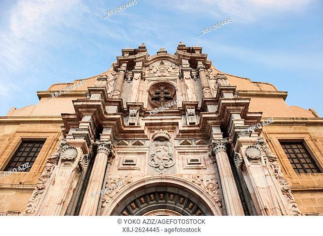 Spain, Murcia region, Caravaca de la Cruz, Alcázar de la Vera Cruz sanctuary