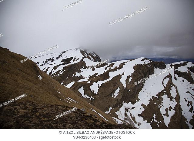 Foggy day on cantabrian mountains, i took this shot an early morning hoping for a sunrise, but the clouds where so down