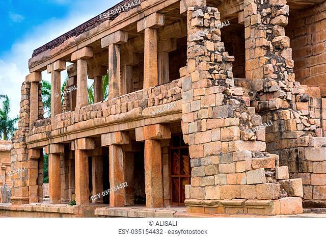 ancient Temple at the Gangaikonda Cholapuram, India