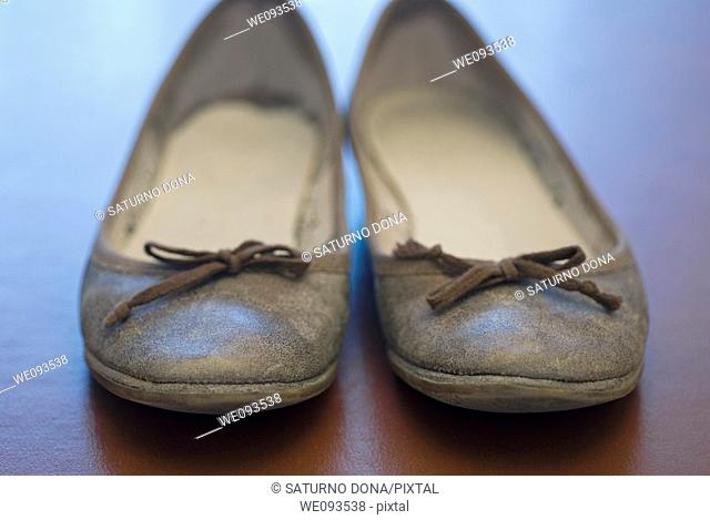 front view of female shoes