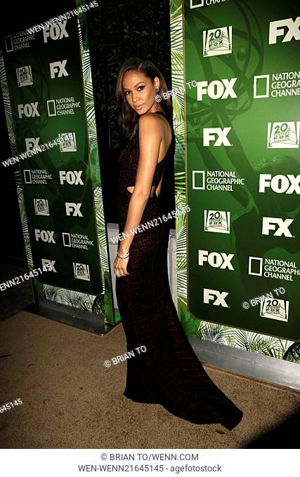 Celebrities attend Fox's 2014 Emmy Award Nominee Celebration at Vibiana. Featuring: Joan Smalls Where: Los Angeles, California