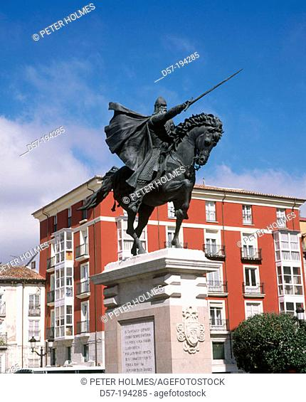 Monument to The Cid. Burgos. Spain