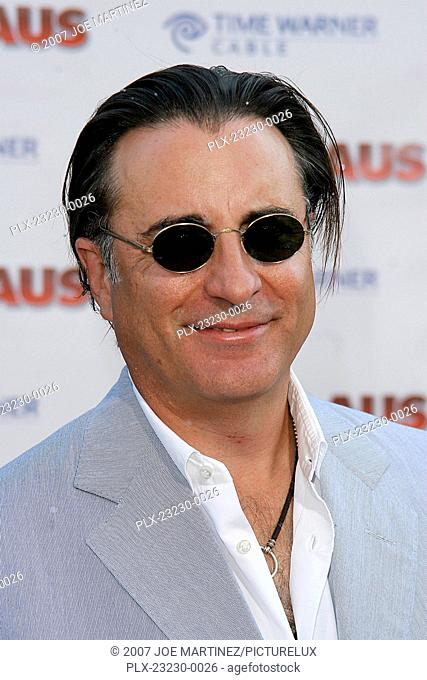 Fred Claus (Premiere) Andy Garcia 11-3-2007 / Grauman's Chinese Theater / Los Angeles, CA / Warner Brothers / Photo by Joe Martinez