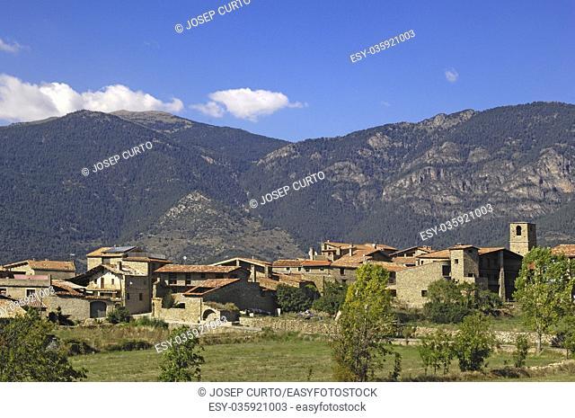 village of Toloriu, Lleida province, Catalonia, Spain