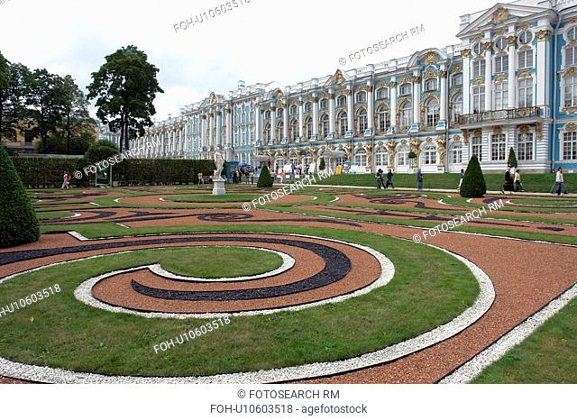 palace, person, catherine, grounds, russia, people