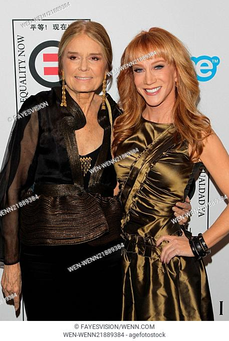 "Equality Now Presents ""Make Equality Reality"" Event Featuring: Gloria Steinem,Kathy Griffin Where: Beverly Hills, California"
