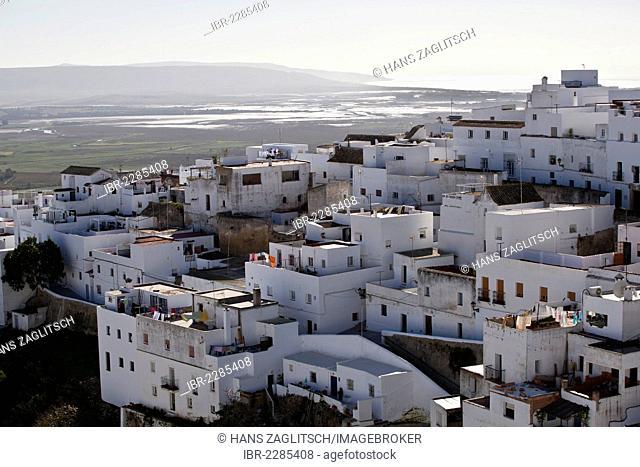 Vejer de la Frontera, Pueblo Blanco, Costa de la Luz, Andalusia, Spain, Europe