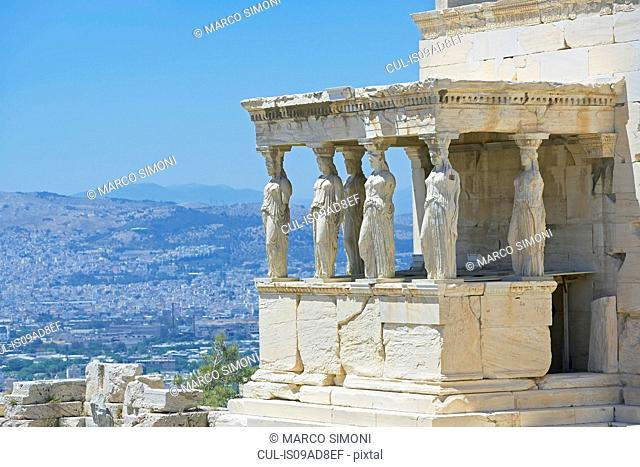 Porch of the Caryatids, Acropolis, Athens, Greece, Europe