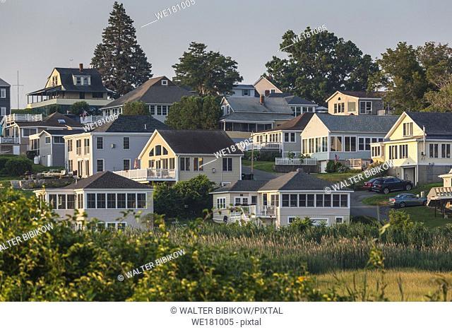 USA, New England, Massachusetts, Ipswich, Great Neck view, morning
