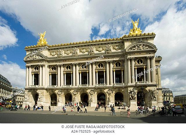 Garnier Opera House, Paris, France