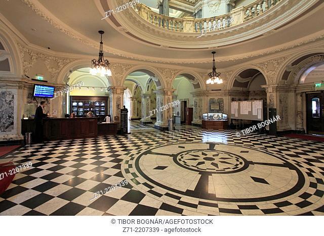 UK, Northern Ireland, Belfast, City Hall, interior,