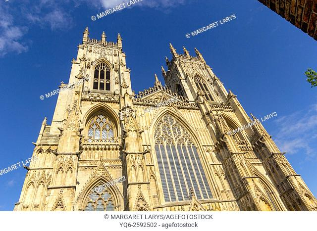 York Minster cathedral in York, North Yorkshire, England, United Kingdom