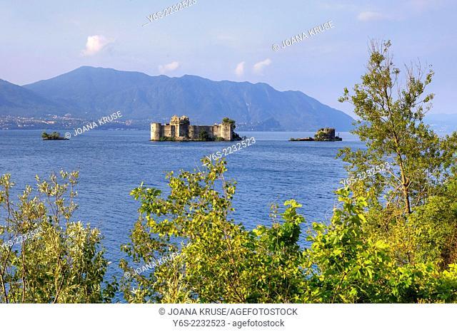 Castelli di Cannero, Cannero, Lake Maggiore, Piedmont, Italy