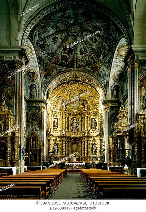 Asunción church. Labastida. Alava. Euskadi. Spain