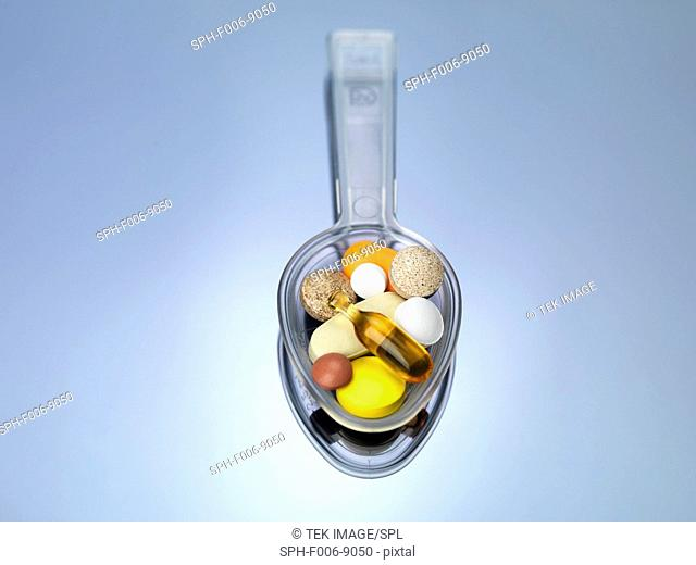 Spoonful of supplements
