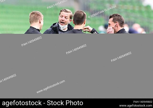 firo: 20.03.2021.Fussball , Fussball.1. Bundesliga, Saison 2020/2021.SVW SV Werder Bremen - VfL Wolfsburg 1:2..Werder coach , Coach , Florian Kohfeldt