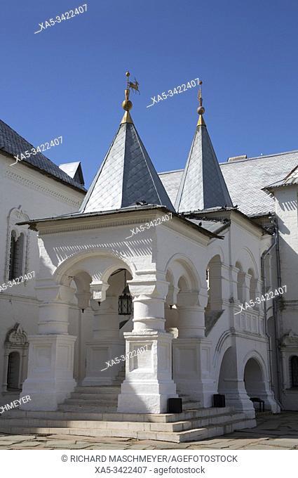 Red Chamber, Kremlin, Rostov Veliky, Golden Ring, Yaroslavl Oblast, Russia