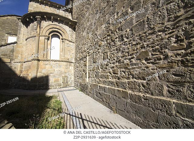 St Peters cathedral in Jaca Huesca Aragon Spain