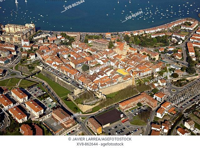 Hondarribia, Txingudi Bay, Gipuzkoa, Basque Country, Spain