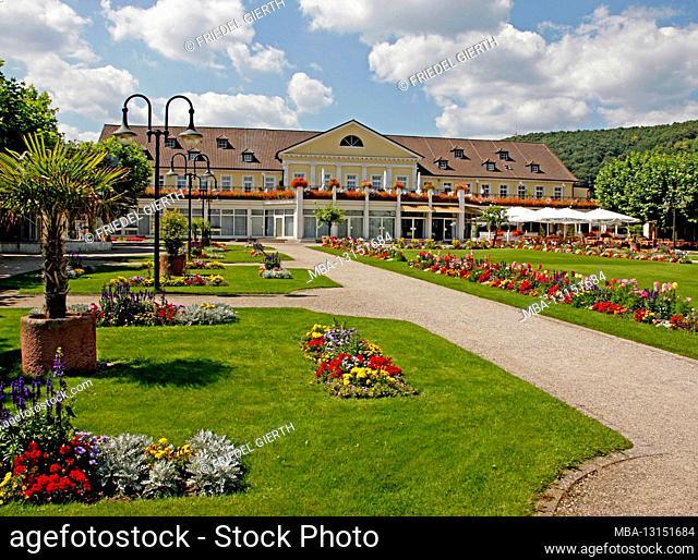 Kurpark, Kurhaus, Bad Dürkheim, Rhineland-Palatinate, Germany