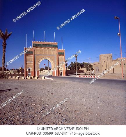 Eine Reise nach Erfoud, Marokko 1980er Jahre. A trip to Erfoud, Morocco 1980s
