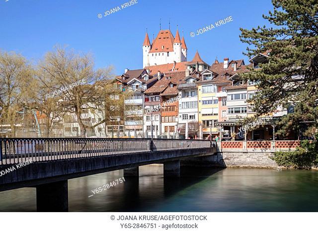 Castle Hill, Thun, Berne, Switzerland
