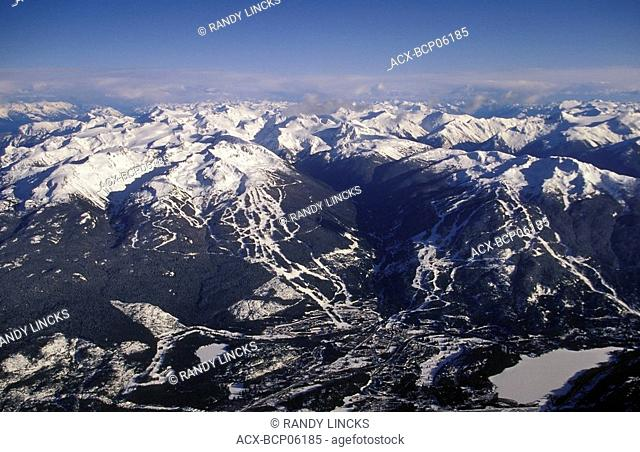 Blackcomb Mountain & Whistler Village, British Columbia, Canada