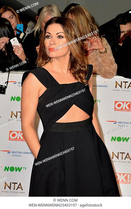2016 National Television Awards (NTA's) held at The O2 - Arrivals Featuring: Alison King Where: London, United Kingdom When: 20 Jan 2016 Credit: WENN