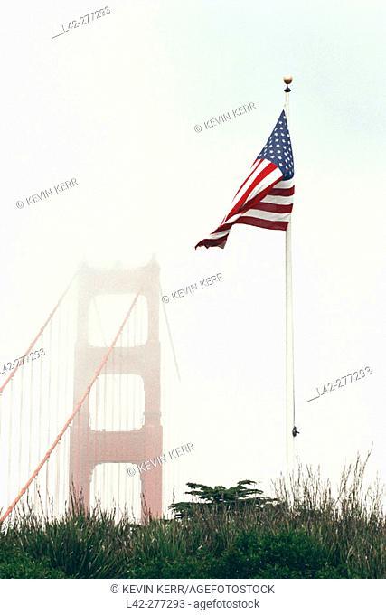 Golden Gate Bridge. San Francisco, California. USA