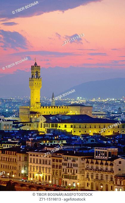 Italy Florence skyline