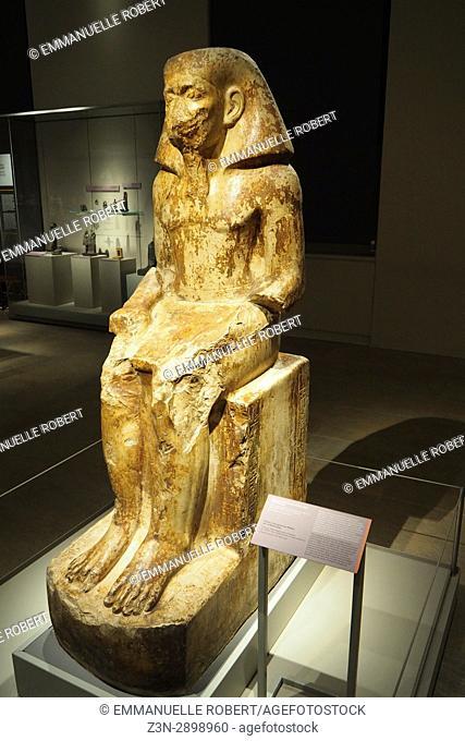 Governor Wakha , son of Neferhotep, Egyptian museum, Turin, Italy, Europe