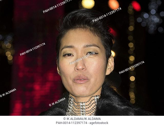 Jihae attends MORTAL ENGINES - World Premiere. London, UK. 27/11/2018 | usage worldwide. - London/United Kingdom of Great Britain and Northern Ireland