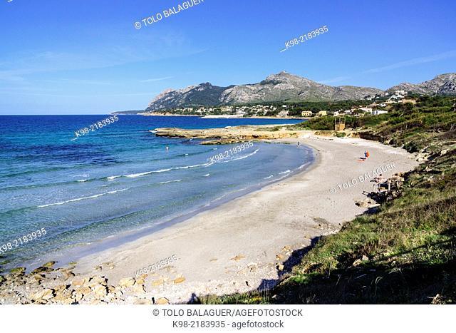 Sant Joan beach, Alcudia, Majorca, Balearic Islands, Spain