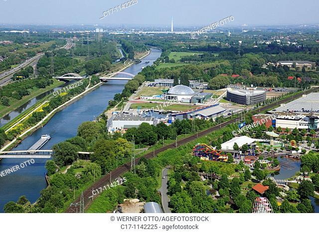 Germany, Oberhausen, Ruhr area, Lower Rhine, North Rhine-Westphalia, Oberhausen-Neue Mitte, Ruhr 2010, Cultural Capital 2010, route of industrial heritage