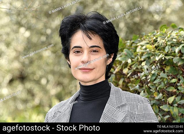 Annalisa Insarda' during the photocall of tv fiction ' Come una madre ' (Like a mother) Rome, ITALY-16-01-2020