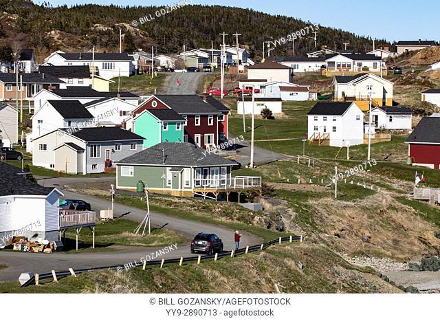 Town of Crow Head, Twillingate, Newfoundland, Canada