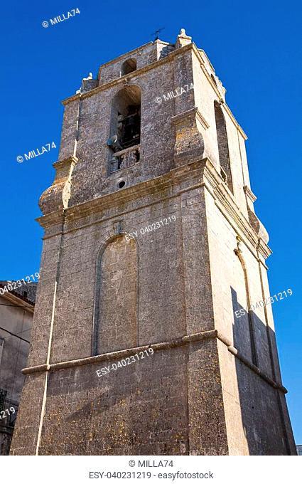 Church of St. Benedetto. Monte Sant'Angelo. Puglia. Italy