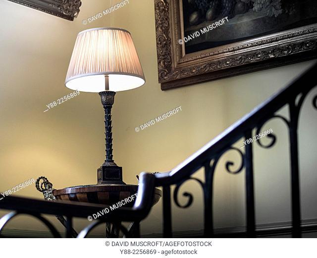 interior, traditional English house
