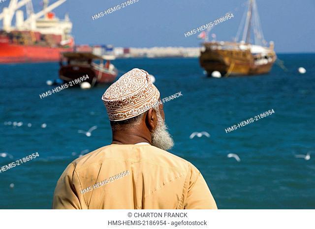 Oman, Muscat, Muttrah port