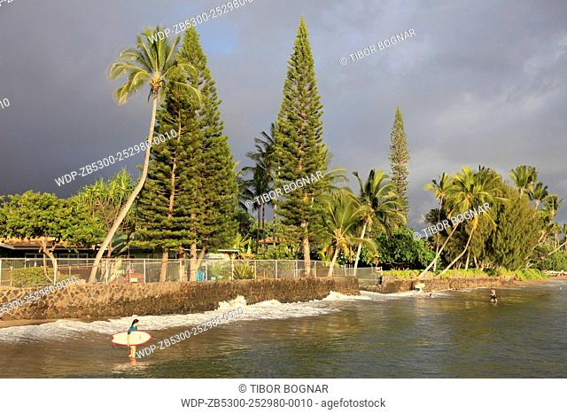 Hawaii, Maui, Lahaina, beach
