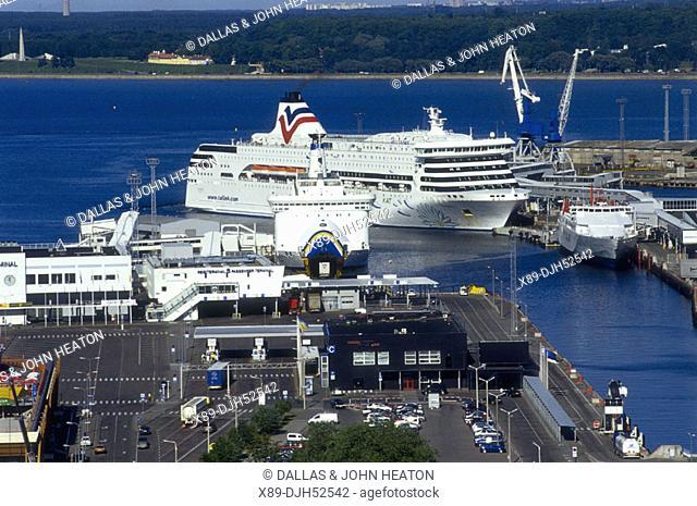 Passenger Ship, Baltic Sea, Harbor, Tallinn, Estonia