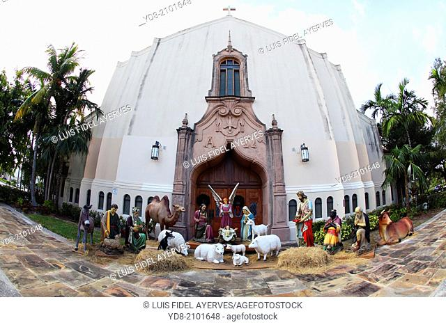 Birth of Jesus, Coral Gables, Florida, USA