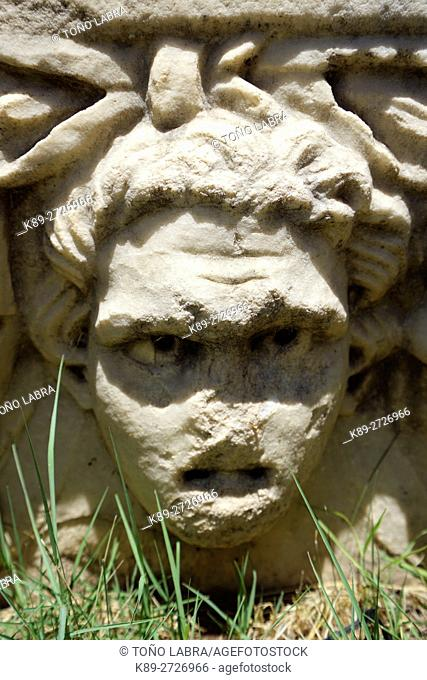 Figurehead Frieze. Aphrodisias. Ancient Greece. Asia Minor. Turkey