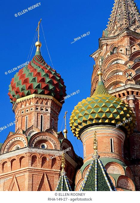 Detail of St.Basil's Cathedral, Moscow, Russia