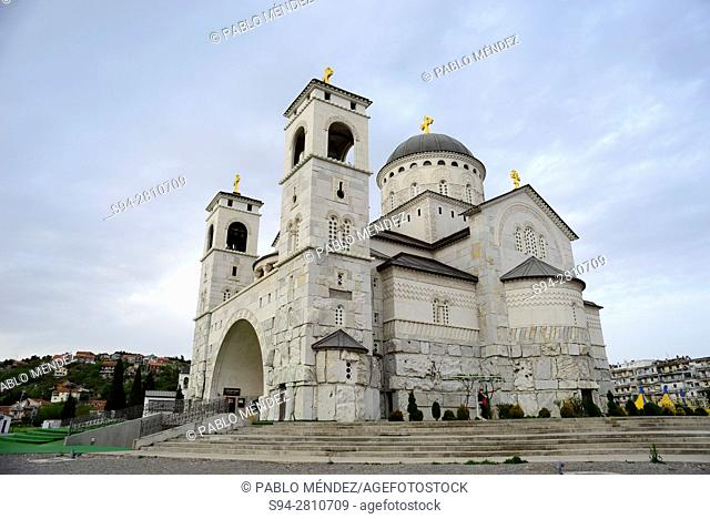 Orthodox church of Christ Resurrection, Podgorica, Montenegro