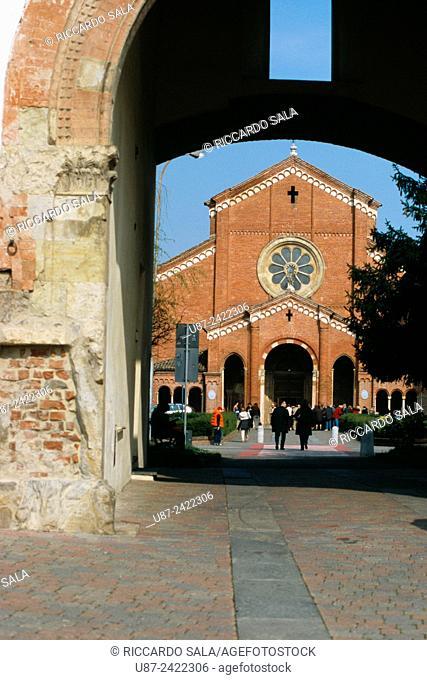 Italy, Emilia Romagna, Alseno, Chiaravalle della Colomba Abbey