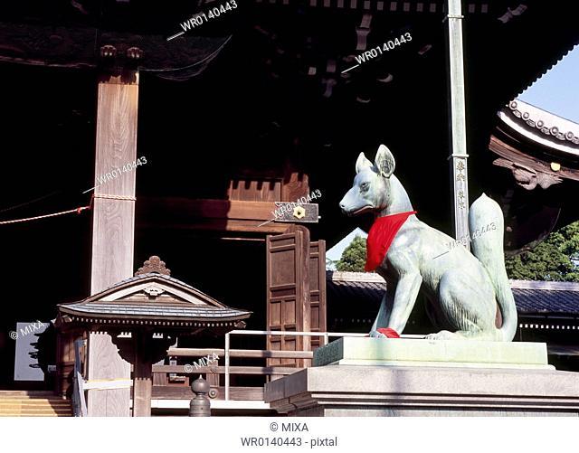 Inari Fox Statue, Toyohashi, Aichi, Japan